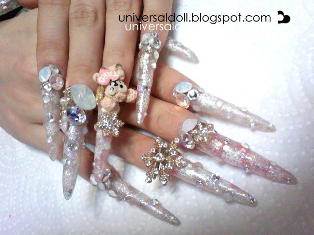 New nails + hair, Rebel deco car | Universal Doll
